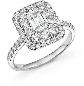 Bloomingdale's Emerald-Cut Diamond Engagement Ring in 14K White Gold, 2.0 ct. t.w. - 100% Exclusive