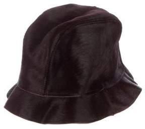 Dolce & Gabbana Ponyhair Bucket Hat