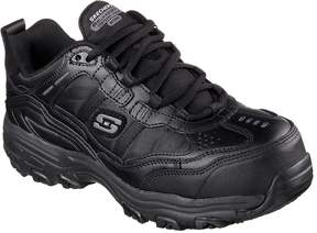 Skechers Work Relaxed Fit: DLites - Tolland Comp Toe