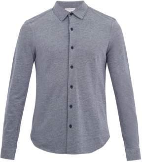Orlebar Brown Morton point-collar cotton-piqué shirt