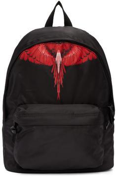Marcelo Burlon County of Milan Black Choym Backpack
