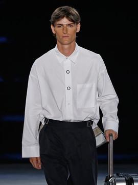 General Idea Back Point Shirt White