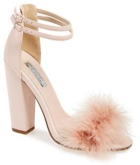 Topshop Women's 'Rebecca' Ankle Strap Sandal