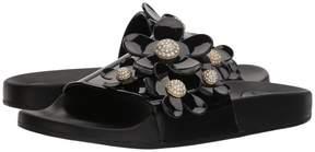 Marc Jacobs Daisy Pave Aqua Slide Women's Slide Shoes