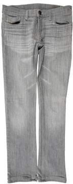 Diesel Liv Low-Rise Straight-Leg Jeans