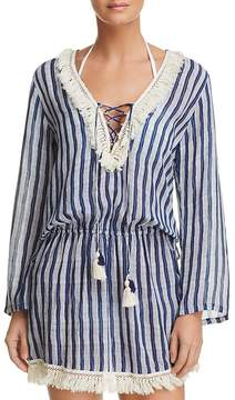 Cool Change Coolchange Chloe Fringed Tunic Swim Cover-Up