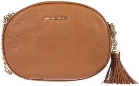 Michael Kors Ginny Medium Shoulder Bag - LUGGAGE - STYLE