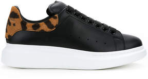 Alexander McQueen animal heel sneakers