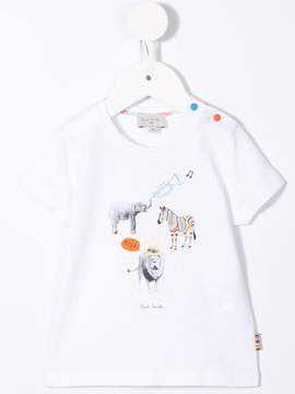 Paul Smith animal print T-shirt