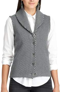 Chaps Women's Checked Sweater Vest