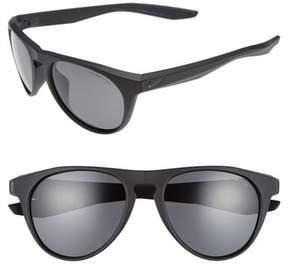 Men's Nike Essential Jaunt 56Mm Sunglasses - Matte Black