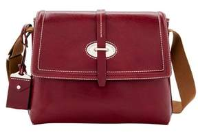 Dooney & Bourke Florentine Toscana Messenger Bag. - BORDEAUX - STYLE