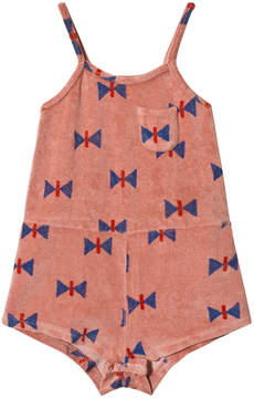 Bobo Choses Lobster Bisque Butterfly Playsuit