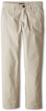 Nautica Flat Front Twill Pants Boy's Casual Pants