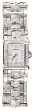 Charriol Stainless Steel White Dial with Diamond 22.8mm Womens Watch