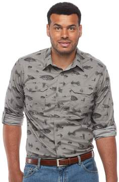 Croft & Barrow Big & Tall Regular-Fit Stretch Outdoor Button-Down Shirt