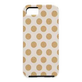 Deny Designs Allyson Johnson Gold Polka Dot Case for iPhone® 6 Plus