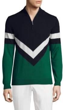J. Lindeberg Golf Marten True Wool Sweater