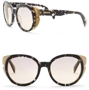 Just Cavalli Round 53mm Plastic Sunglasses