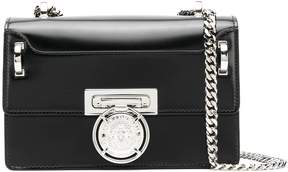 Balmain Box20 Leather Clutch