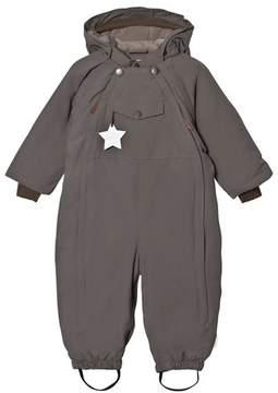 Mini A Ture Wisti, M Snowsuit steel grey