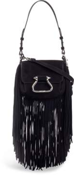 Roberto Cavalli Fringed Shoulder Bag