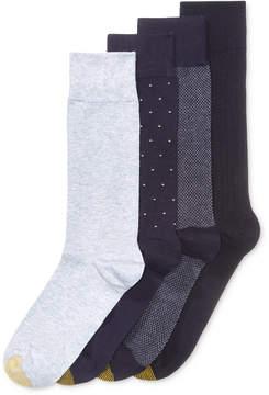 Gold Toe Men's 4-Pk. Patterned Socks