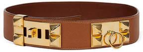 One Kings Lane Vintage HermAs Collier de Chien Gold Belt