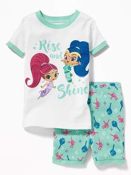 Old Navy Shimmer and Shine Sleep Set for Toddler & Baby