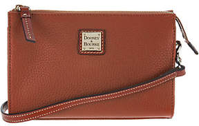 Dooney & Bourke As Is Pebble Leather Crossbody Handbag-Janine - ONE COLOR - STYLE