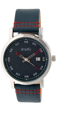 Simplify The 5300 Blue Dial Watch, 40mm