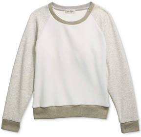 Jessica Simpson Everett Fleece Sweatshirt, Big Girls (7-16)