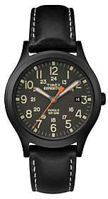 Timex Unisex Expedition Scout Black Stainless Analog Watch