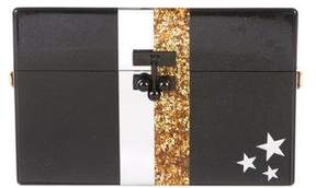 Edie Parker Metallic Embellished Clutch