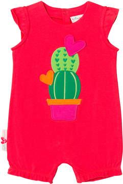 Agatha Ruiz De La Prada Red Cactus Print Romper