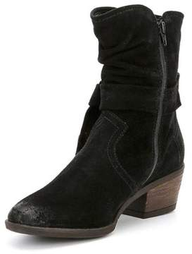 Josef Seibel Womens Daphne05 Suede Almond Toe Ankle Fashion Boots.