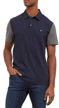 Kenneth Cole New York Reaction Kenneth Cole Short-Sleeve Color Block Polo Shirt - Men's