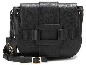 Roger Vivier Pilgrim De Jour leather crossbody bag