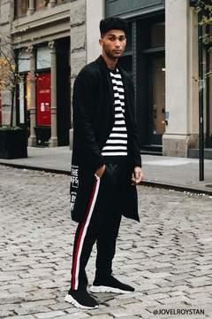 21men 21 MEN Ribbed Stripe Sweater