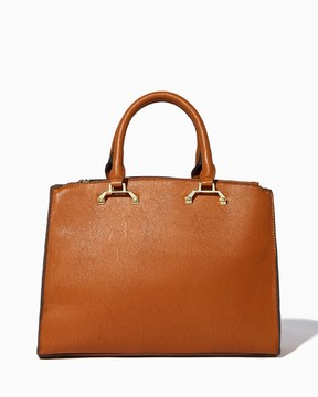 Charming charlie Finleigh Polished Satchel