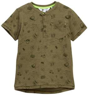 Petit Lem Serengeti Safari Henley Tee (Little Boys)