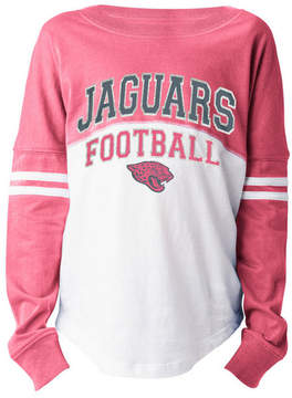 5th & Ocean Jacksonville Jaguars Sweeper Long Sleeve T-Shirt, Girls (4-16)