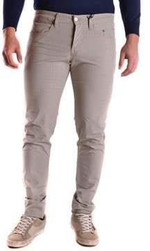Siviglia Men's Grey Cotton Pants.