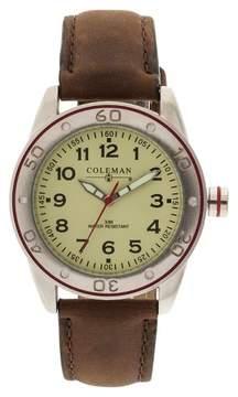 Coleman Men's Analog Strap Watch - Tan