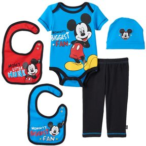 Disney Disney's Mickey Mouse Baby Boy 5-pc. Layette Gift Set
