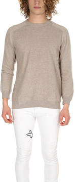 Avant Toi Mended Crewneck Sweater