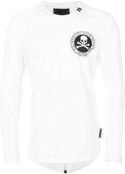 Philipp Plein long sleeved biker T-shirt