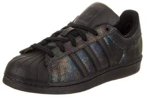 adidas Kids Superstar Black Iridescent Originals Casual Shoe