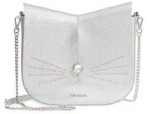 Ted Baker Hildaa Glitter Faux Leather Crossbody Bag