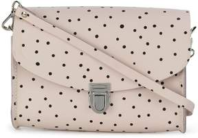 The Cambridge Satchel Company Medium Push Lock polka dot satchel